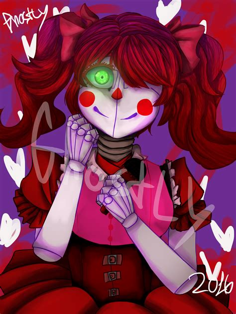 Baby Fnaf Sister Location By Captain Ghosly Da7h By