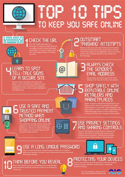 Top 10 Tips To Keep You Safe Online Yahoosafetyph