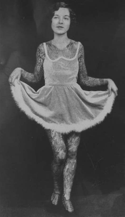Vintage Photographs of Tattooed Women ~ vintage everyday