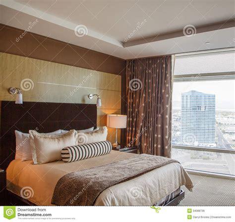 chambre d h es de luxe lit de dno dans la chambre d 39 hôtel de luxe image libre de