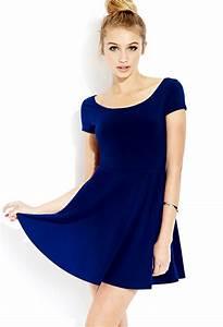 robe patineuse bleu roi bleu roi pinterest forever21 With robe bleu patineuse