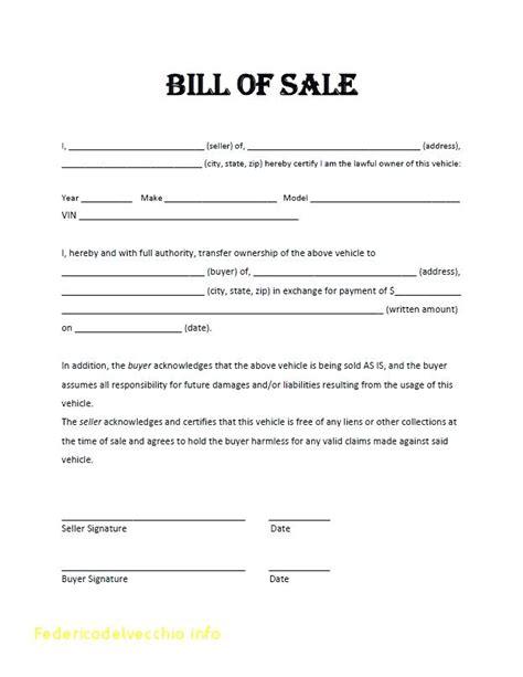 Blank Boat Bill Of Sale Georgia by Florida Dmv Bill Of Sale Pdf Bill Of Sale Form Georgia