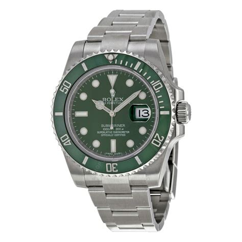Rolex Pre-owned Rolex Submariner Green Dial