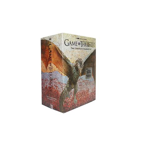 game  thrones seasons   dvd box set