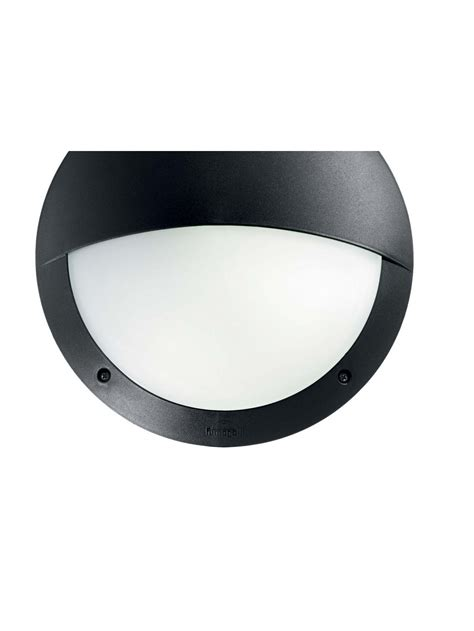 Applique Moderno by Applique Per Esterno Moderno 1 Luce Lucia 2 Nero