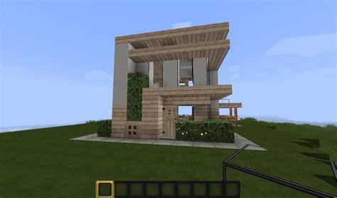 Modernes Haus Minecraft Klein by Minecraft Small Modern House Minecraft Project