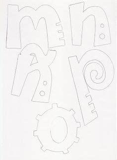 moldes para hacer letras en goma imagui letras paraimprimir lettering