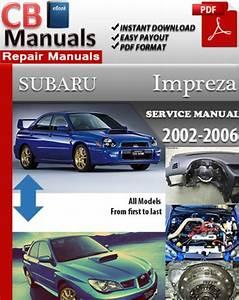 Factory Pdf Manuals  Subaru Impreza 2002