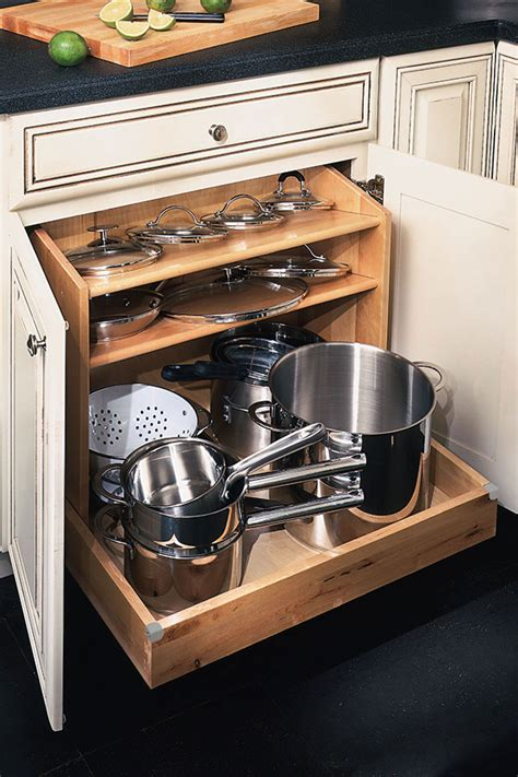 diamond  lowes organization base pots  pans organizer