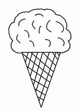 Ice Cream Coloring Pages Printable Cool2bkids Cone Sheets Cones Sweets Template раскраски Food для рисунки Printing Books раскрашивания Felt Crafts sketch template