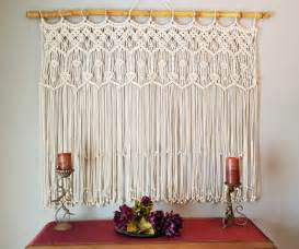macrame curtain home design garden