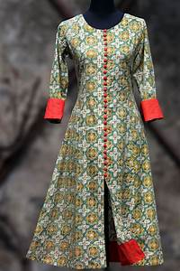 printed salwar kameez, latest kurti girls, designs @ http ...