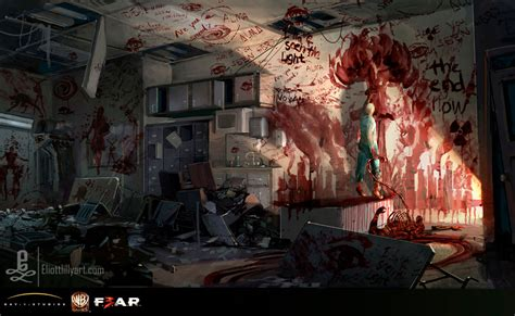 concept arts  game fear  thecab  concept art blog