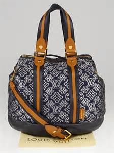 louis vuitton limited edition navy jacquard monogram