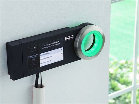 Cool Product Alert A Smart Sprinkler Controller To Water Your Lawn by Skydrop I Want It Now Sprinkler Controller Water