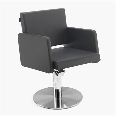 rem colorado hydraulic styling chair in black direct