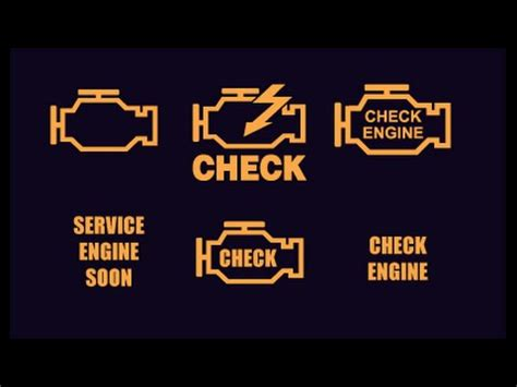 hay check engine light en el tablero youtube