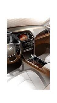 Hyundai Sonata interior revealed in new sketch - photos ...
