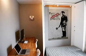 Ikea Lit Une Place : lit escamotable ikea diy avec une armoire pax ~ Preciouscoupons.com Idées de Décoration