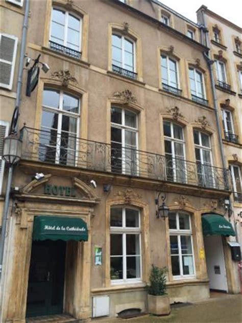 location chambre metz la façade photo de hotel de la cathedrale metz