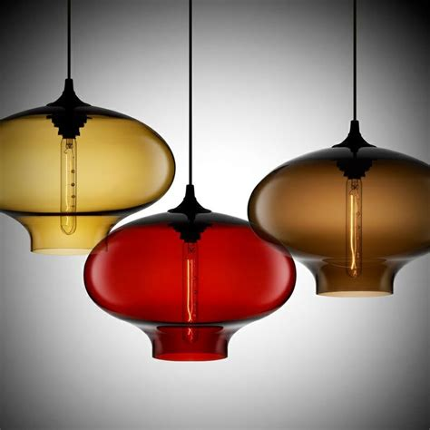 colored glass pendant lights where my is