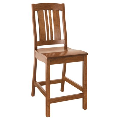 amish bar chairs barstools amish furniture