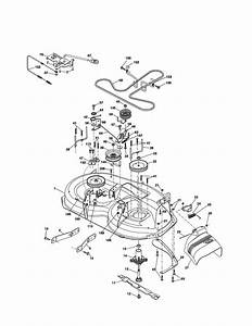 29 Poulan Pro Riding Mower Drive Belt Diagram