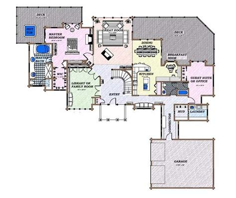 contemporary floor plans for homes modern house designs and floor plans picture cottage