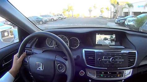 2013 Honda Accord Ex Manual Transmission Pov Test Drive