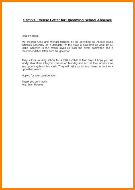 write  excuse note  school  invoice
