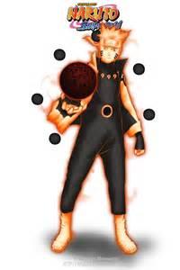 Mode Nine Sage Tail Naruto Uzumaki