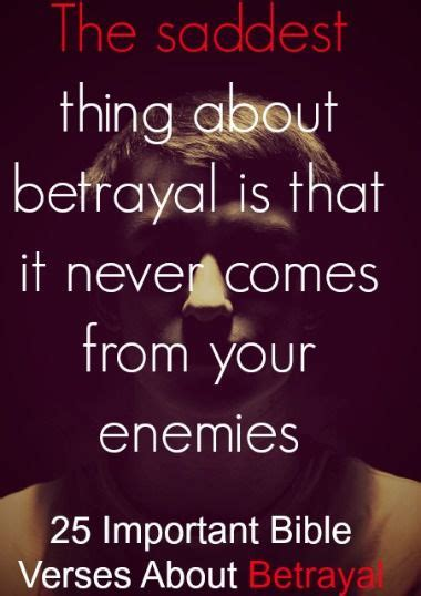 bible quotes about family betrayal