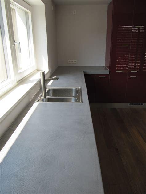 Küchenarbeitsplatte Aus Beton Erfahrungen by K 252 Chenarbeitsplatte Aus Beton K 252 Chenarbeitsplatte Beton