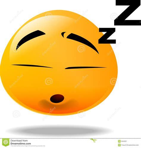 Sleepy Smiley-Face Emoticon