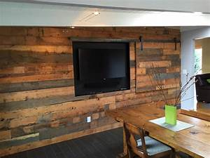 stained concrete floor + shiplap wall - Google Search