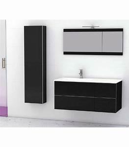 Meuble Salle De Bain Suspendu : meuble suspendu salle de bain duo 105 banyo ~ Edinachiropracticcenter.com Idées de Décoration