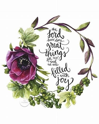 Scripture Hope Filled Lord Bible Joy Verses