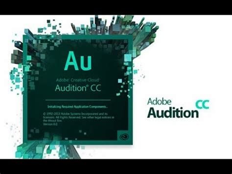 Adobe Audition Cs6 How To Record In Studio Quality Youtube