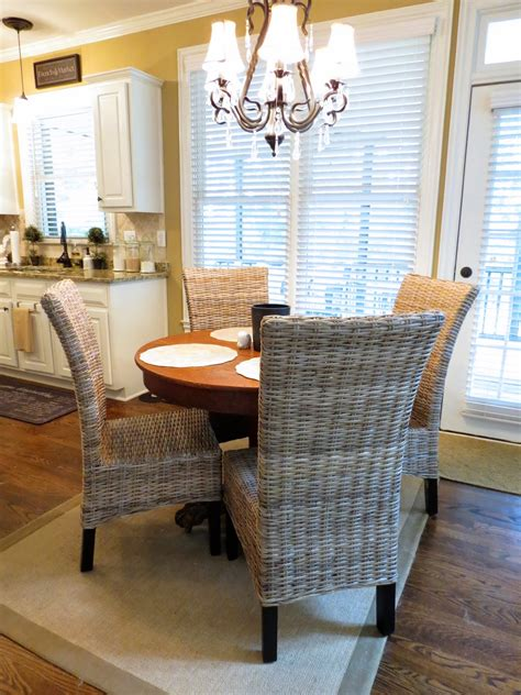 enchanting rattan kitchen chairs and wicker chair design
