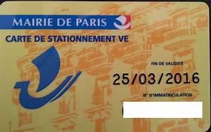 Mairie De Paris Stationnement : carte de stationnement v e paris ~ Medecine-chirurgie-esthetiques.com Avis de Voitures