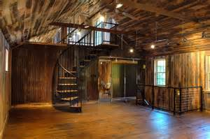 Traditional 2 Story House Plans 20 Unique Barndominium Designs Salter Spiral Stair
