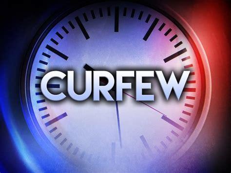 mandatory curfew declared  bladenboro wway tv