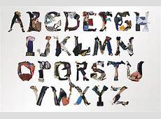 stylized fashion fonts by yvette yang