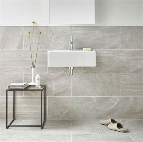 inverno grey marble rectified wall and floor tile