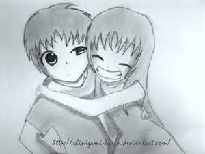Anime Friends Drawings