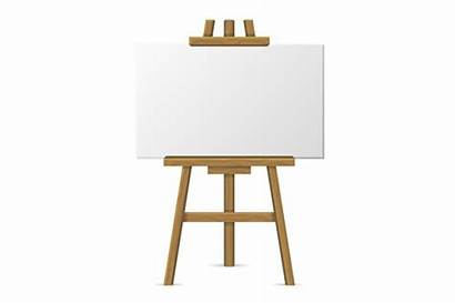 Easel Canvas Blank Wooden