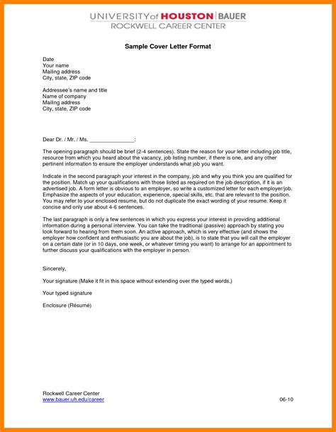 company letter format letters  sample