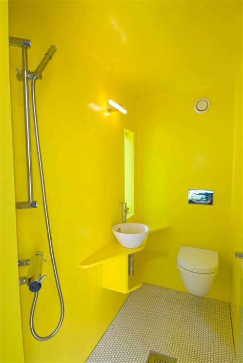 Wandfarbe Gelb Grün by Wandfarbe Gelb Eine Sonnige Stimmung Im Badezimmer Haben