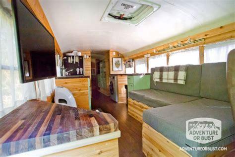 adventure  bust school bus conversion