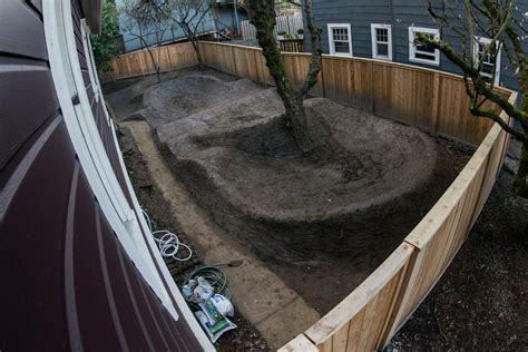 How To Build Your Own Backyard Bmx Or Mtb Pump Track